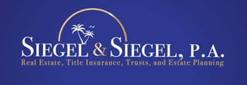 Siegel and Siegel. A Boca Raton Law Firm Logo